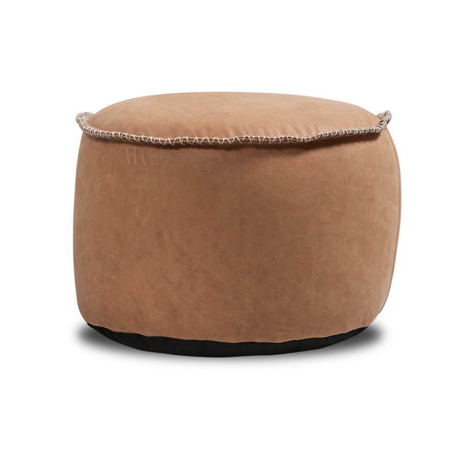 SACKit RETROit Dunes Drum Hocker camel