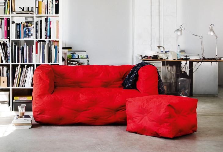Sitting Bull Couch I 2 Sitzer Outdoor Sofa Sitzsackfabrik