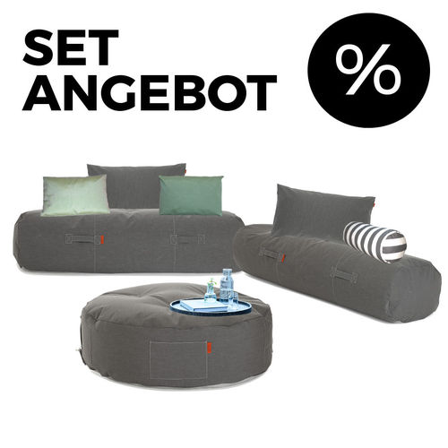Trimm Copenhagen - Outdoor Sitzecke 9er-Set Comfy Terrace